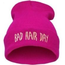 """Mütze """"bad hair day"""" pink"""