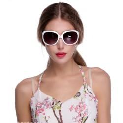 Retro Sonnenbrille weiss