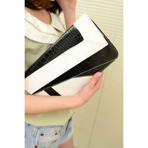Handbag black / white