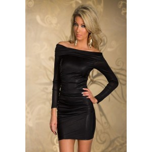 Long sleeve dress black
