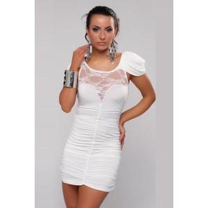 Cocktail Kleid weiss