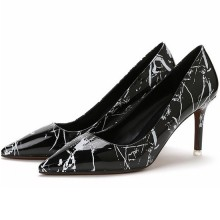 Fashion Print Pumps