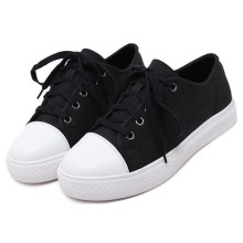 Sneakers schwarz / weiss