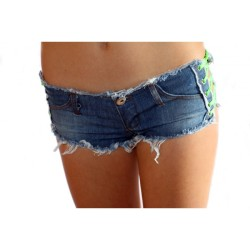 Jeans Shorts neon